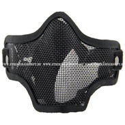 Striker Steel Half Mask-Two Belt Version, Black