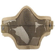 Striker Steel Half Mask-Two Belt Version, Tan