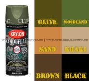 Krylon, Camoflage, sprayfärg