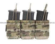 Warrior G36 Triple open pouch, MC