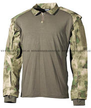 US Tactical Shirt, HDT camo green