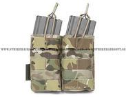Warrior M4 Double open pouch, MC