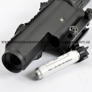 Tactical ZX 1-4x28 Yellow Illuminated Reticle Riflescope