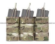 Warrior M4 Triple open pouch, MC