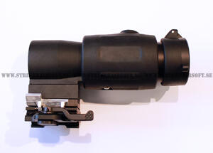 QD flip to side 3X Magnifier Scope