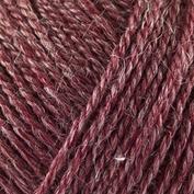 No.3 Organic Wool+Nettles nr 1108 mörkt röd