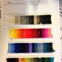 Färgkarta 3-trådigt strikkegarn