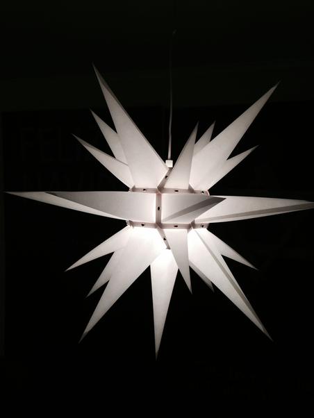 WHITE STAR - 60 CM