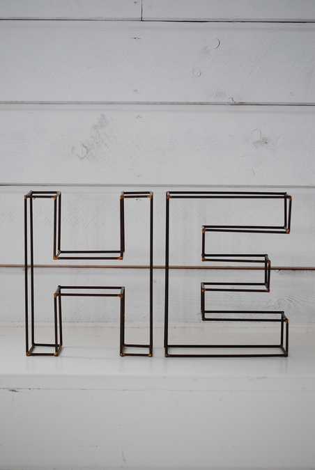 WIRE LETTERS - HE