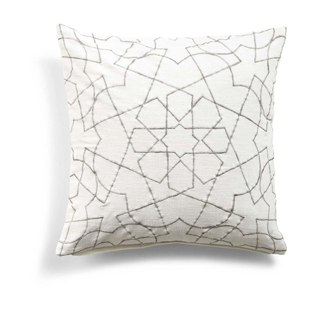 DAY HOME - SOMWHERE CUSHION COVER - WHITE