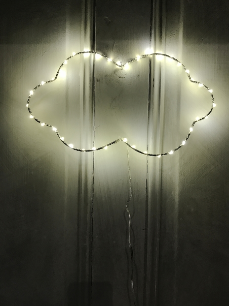 DECORATIVE LIGHTING - LARGE CLOUD