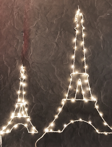 DECORATIVE LIGHTING - SMALL EIFFEL TOWER