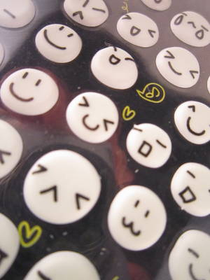 Smileys (glow-in-the-dark)