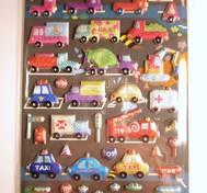 Cars, Glimry foamsticker