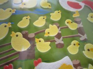 Kycklingar, filttyg