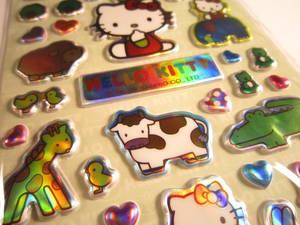 Hello Kitty animal metallic