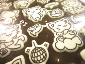 Cats (glow-in-the-dark) 2