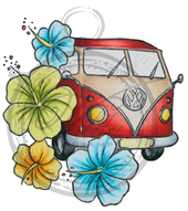 Flower power Volkswagen