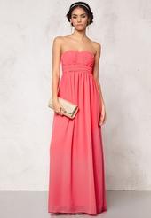 LITA - Lång klänning Chiffong