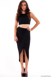 Topp och kjol i set