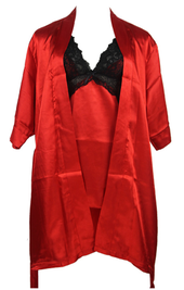 Underkläder set | Silkes Morgonrock & Babydoll