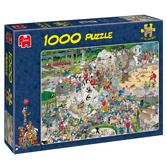 Jan van Haasteren Pussel - The Zoo 1000 bitar