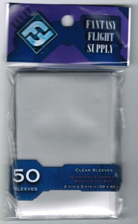 Sleeves FFG Clear 59 x 92 mm