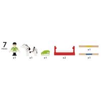Brio Trätåg - Häst träningspaket