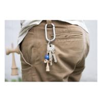Krom Nyckelring - Blå