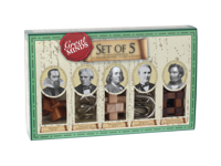 Great Minds: 5-pack