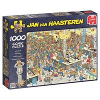 Jan van Haasteren Pussel - Queued Up! 1000 bitar