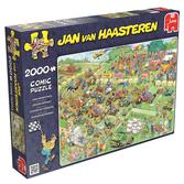 Jan van Haasteren Pussel - Lawn Mower Race 2000 bitar