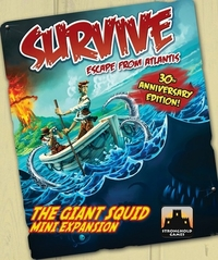 Survive: Escape from Atlantis! - The Giant Squid (exp.)