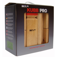 Kubb Pro Red King
