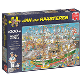 Jan van Haasteren Pussel - Tall Ship Chaos 1000 bitar