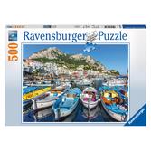 Ravensburger Pussel - Colorful Marina - 500 bitar