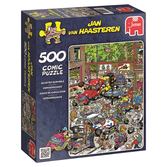 Jan van Haasteren Pussel - Traffic Chaos 500 bitar