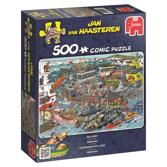 Jan van Haasteren Pussel - Sea Port 500 bitar