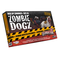 Zombicide Box of Zombies Set #5: Zombie Dogz (Exp.)
