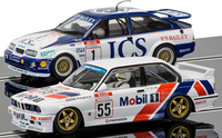 Scalextric 1:32 - Touring Car Legends Twinpack - Ford Sierra RS500 and BMW E30