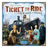 Skadat: Ticket to Ride: Rails & Sails (Eng.)