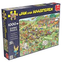 Jan van Haasteren Pussel - Lawn Mower Race 1000 bitar