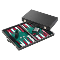 Backgammon Medium Green