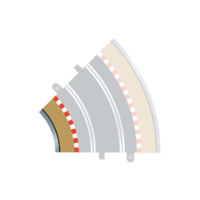 Scalextric 1:32 - Rad 2 Inner borders & barrier