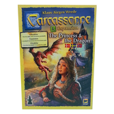 Skadat: Carcassonne Expansion - The Princess and the Dragon (Swe)