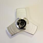 BA - Fidget Spinner Metallic Silver