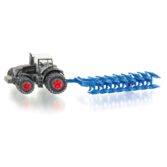 Siku 1:87 - 1862 Fendt Traktor med Plog