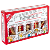 The Puzzling Professors' 5 x Wooden Puzzle Set