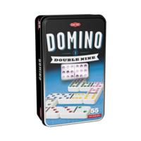 Domino Double 9 i plåtlåda