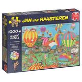 Jan van Haasteren Pussel - The Balloon Festival 1000 bitar
